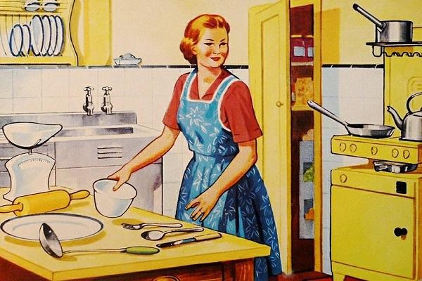 Donne che si dichiarano casalinghe, netto calo in Italia rispetto a dieci anni fa